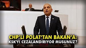 CHP'li Polat'tan Bakan'a: KSK'yı cezalandırıyor musunuz?