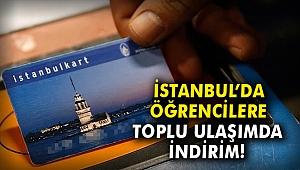 İstanbul'da öğrencilere toplu ulaşımda indirim!