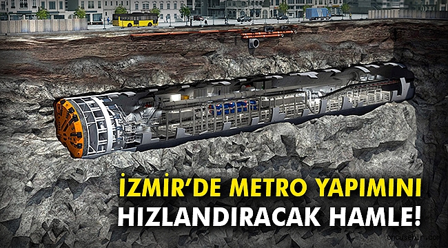 İzmir'de metro yapımını hızlandıracak hamle!