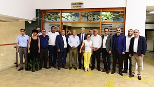 İzmir Milletvekili Beko'dan Başkan Karakayalı'ya ziyaret