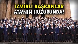 İzmirli Başkanlar Ata'nın huzurunda!