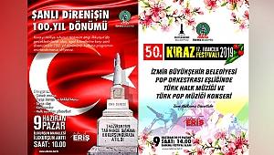 Kiraz Festivali ve İlkkurşun kutlama programı bayram sonu yapılacak