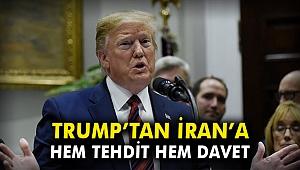 Trump'tan İran'a hem tehdit hem davet