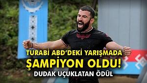 Turabi ABD'deki yarışmada şampiyon oldu! Dudak uçuklatan ödül…