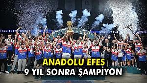 Anadolu Efes 9 yıl sonra şampiyon