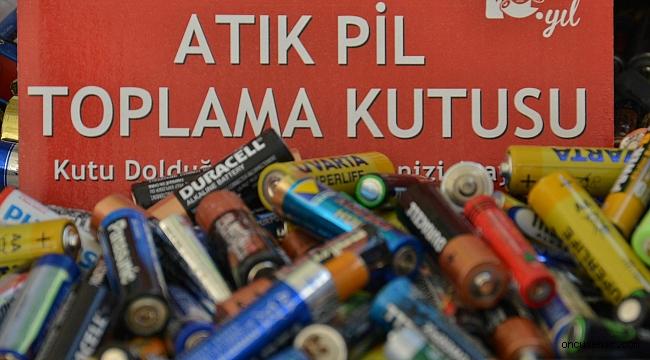 Atık Pil Toplama Kampanyası'nda birincilik Konak'ın