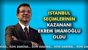 İstanbul Seçimlerinin Kazananı Ekrem İmamoğlu Oldu