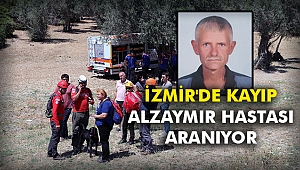 İzmir'de kayıp alzaymır hastası aranıyor