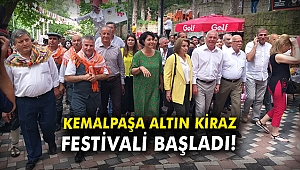 Kemalpaşa Altın Kiraz Festivali başladı!
