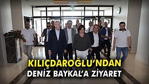 Kılıçdaroğlu'ndan Deniz Baykal'a ziyaret