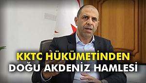KKTC hükümetinden Doğu Akdeniz hamlesi