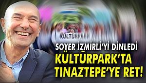 KÜLTÜRPARK'TA TINAZTEPE'YE RET!