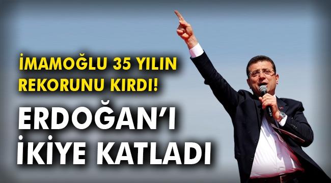 Son 35 yılda İstanbul seçimlerinde en fazla oyu İmamoğlu aldı