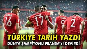 Türkiye tarih yazdı, dünya şampiyonu Fransa'yı devirdi
