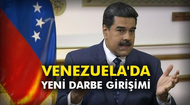 Venezuela'da yeni darbe girişimi