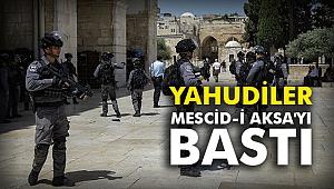 Yahudiler Mescid-i Aksa'yı bastı