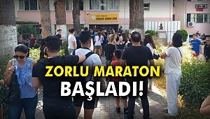 Zorlu Maraton Başladı!