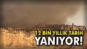 12 bin yıllık tarih yanıyor!