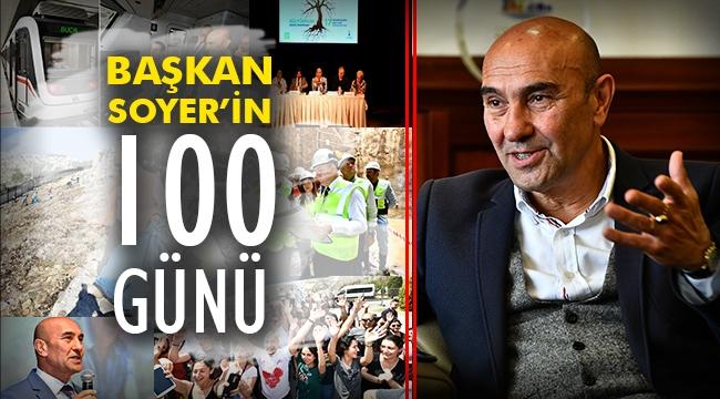 Başkan Soyer'in 100 günü