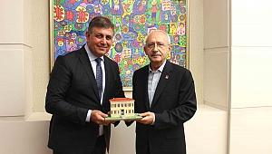 Başkan Tugay Kılıçdaroğlu'nu ziyaret etti