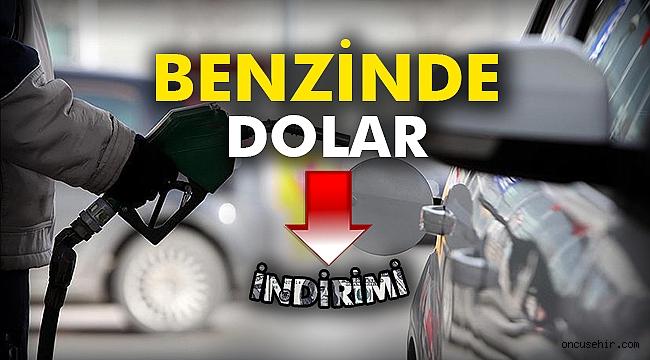 Benzinde dolar indirimi