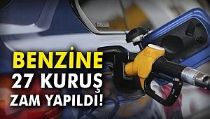 Benzine 27 kuruş zam yapıldı!