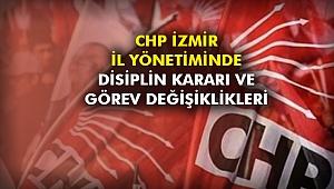 CHP İzmir İl Yönetimi disiplin kararı ve görev değişiklikleri