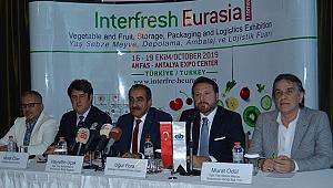 Egeli İhracatçılardan Interfresh Eurasia Fuarına büyük ilgi
