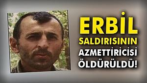 Erbil saldırısının azmettiricisi öldürüldü!