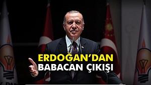 Erdoğan'dan Babacan çıkışı