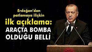 Erdoğan'dan Hatay'daki patlamaya ilişkin ilk açıklama!