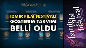 İzmir Film Festivali gösterim takvimi belli oldu