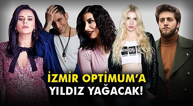 İzmir Optimum'a yıldız yağacak