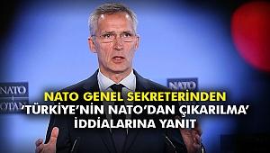 NATO Genel Sekreterinden 'Türkiye'nin NATO'dan çıkarılma' iddialarına yanıt