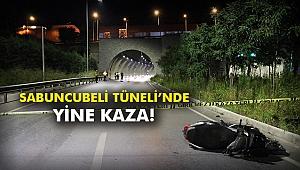 Sabuncubeli Tüneli'nde yine kaza!