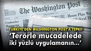 Türkiye'den Washington Post'a tepki!