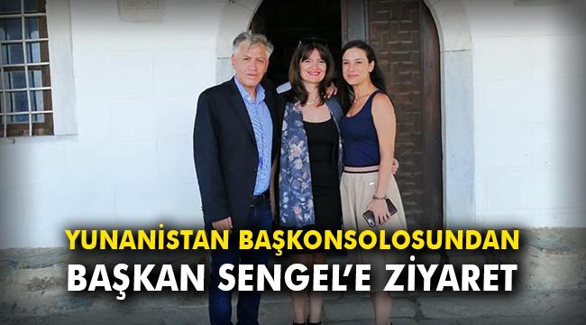 Yunanistan Başkonsolosundan Başkan Sengel'e ziyaret
