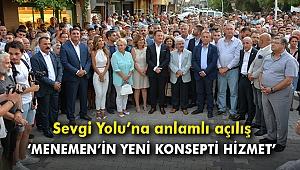 Başkan Aksoy: Menemen'in yeni konsepti hizmet