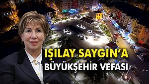 Işılay Saygın'a Büyükşehir vefası