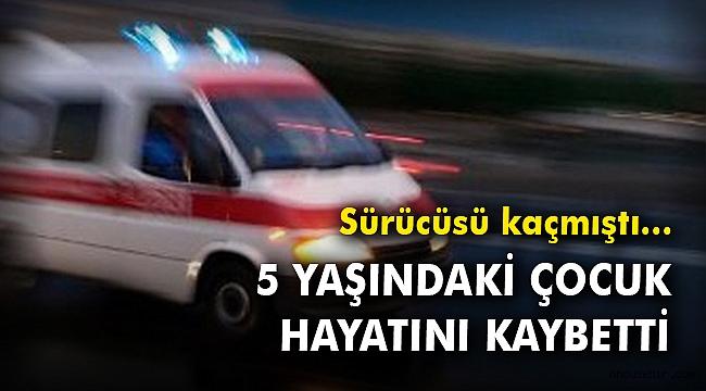 İzmir'de otomobilin çarptığı 5 yaşındaki çocuk hayatını kaybetti