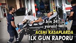 Kurban Bayramında ilk gün raporu: 5 bin 341 acemi kasap...