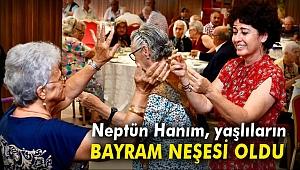 Neptün Soyer'den huzurevlerine Bayram ziyareti