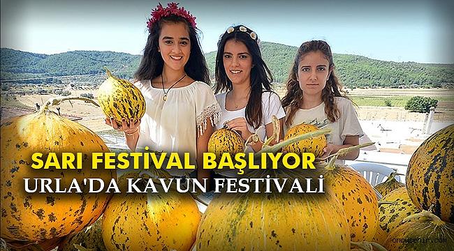 Sarı festival başlıyor