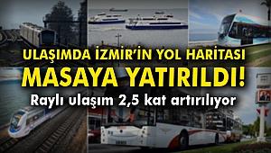 Ulaşımda İzmir'in yol haritası masaya yatırıldı