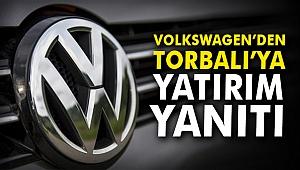 Volkswagen'den Torbalı'ya yatırım yanıtı
