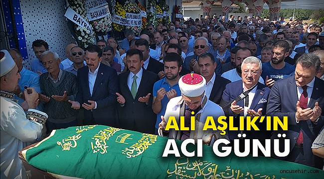 Ali Aşlık'ın acı günü