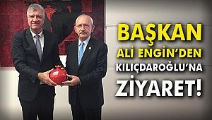 Başkan Ali Engin'den Kılıçdaroğlu'na ziyaret