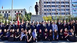 Başkan İduğ: Gazilik, Türk kahramanlığının yaşayan destanıdır