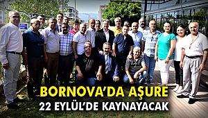 Bornova'da aşure 22 Eylül'de kaynayacak