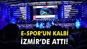E-Spor'un sporun kalbi İzmir'de attı